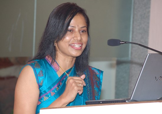 A photo of Dr. Saral Thangam
